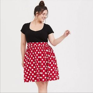 Torrid Disney Collection Minnie Mouse Dress Size 2